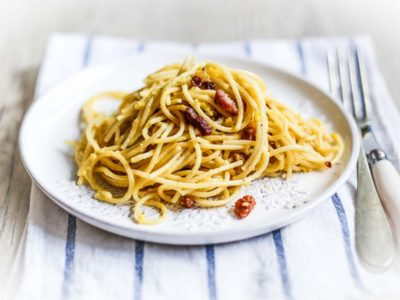 ricetta carbonara light